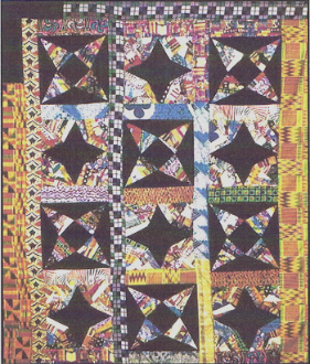 SFQP515 African Double Star String Quilt Pattern©