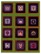 SFQP211 African Mask Quilt Pattern