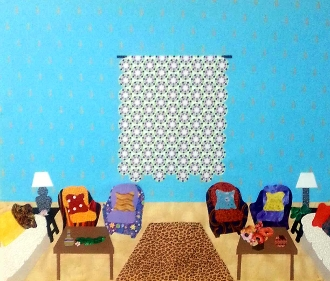 Sew Fabulous® Applique Quilt Pattern Room No.1 With Wall Quilt